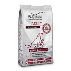 Alimento completo Platinum Adult Agnello e Riso per cani