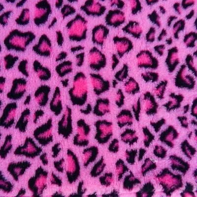 Vet Bed tappeto antiscivolo Leopardato Fuxia