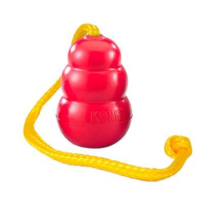 Kong Classico con corda per cani
