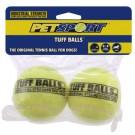 Pallina tennis - Confezione da 2 pezzi - 6 cm per cani