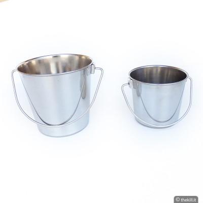 Secchiello in acciaio inossidabile per cani