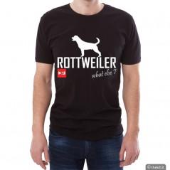 T-shirt Nera unisex Rottweiler XL addestramento cani