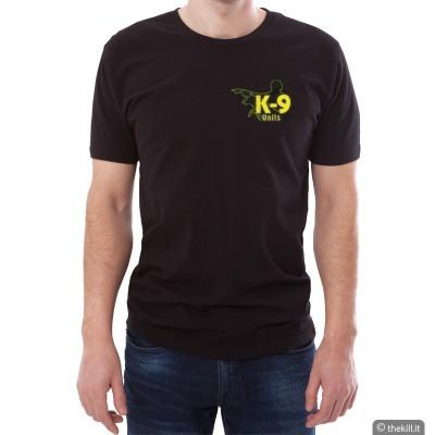 T-shirt manica corta UNISEX JULIUS K9 Nera addestramento cani
