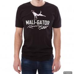 T-shirt Maligator. Maglietta per addestratore. Nera addestramento cani