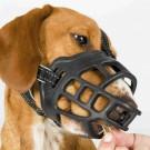 Museruola Muzzle Flex in silicone consente di bere e mangiare per cani