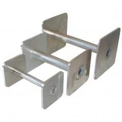 Riportello quadrato in metallo per addestramento