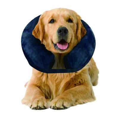Collare gonfiabile protettivo morbido per cani