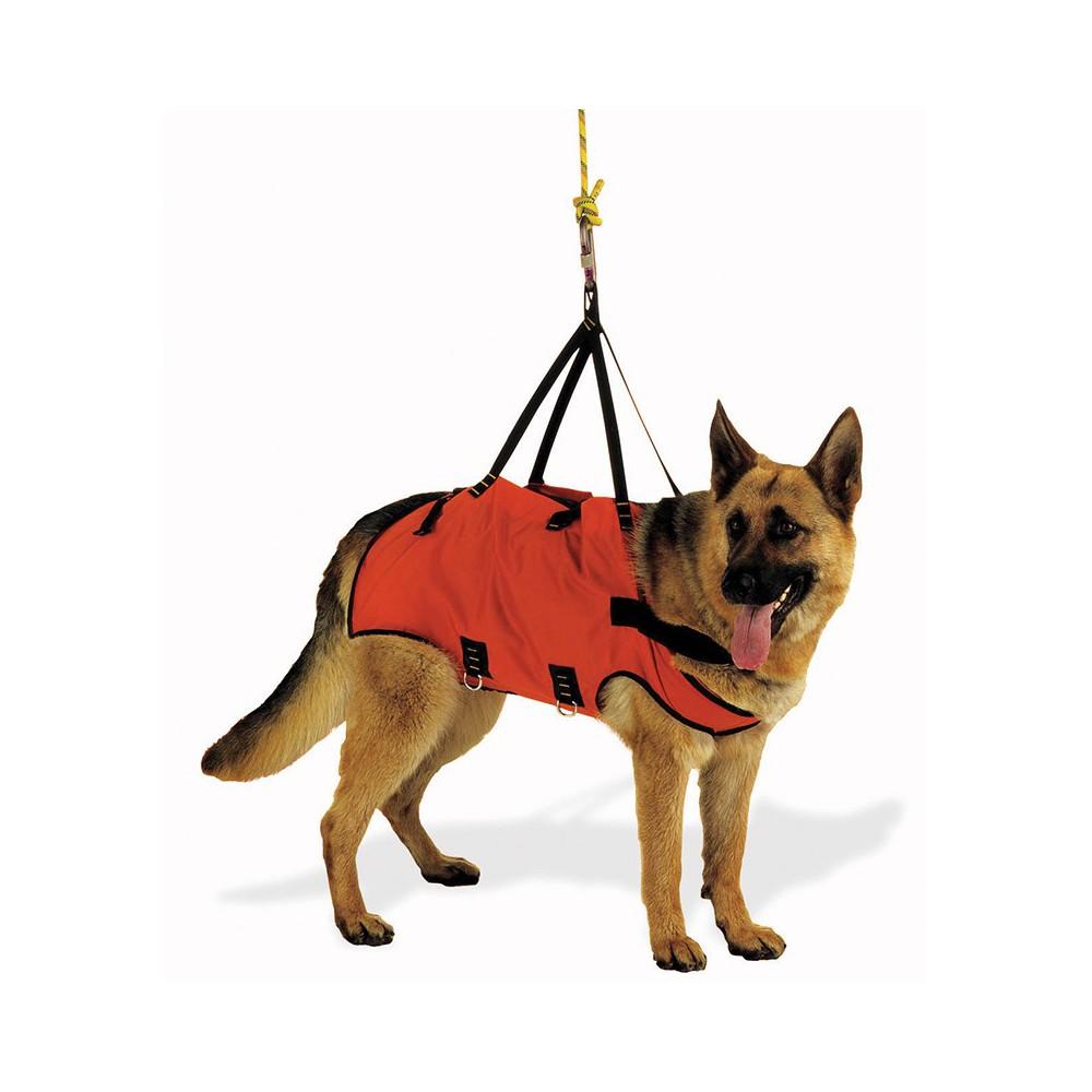 Imbrago per cane per manovre o per il soccorso per cani