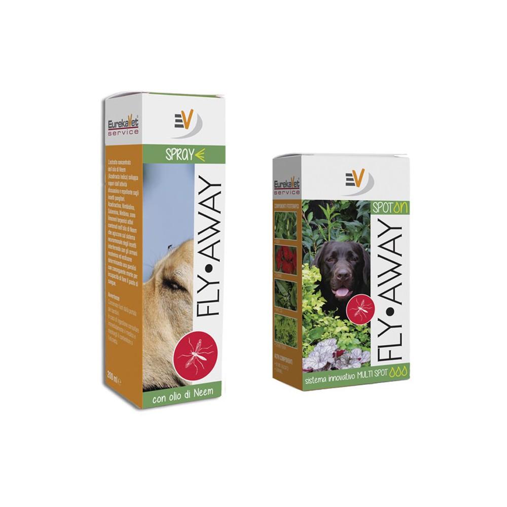FLY-AWAY una barriera per zanzare e parassiti per cani
