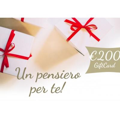 Gift Card 200,00 euro