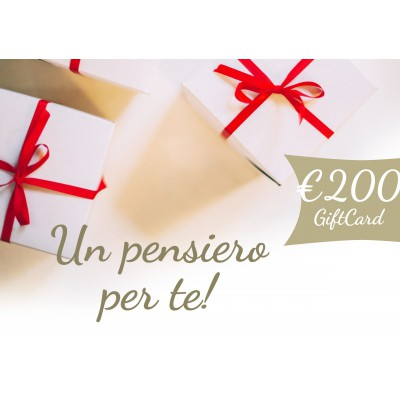 Gift Card €. 200,00