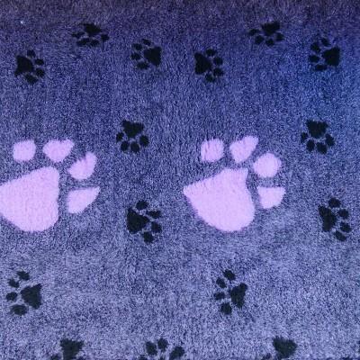 Vet Bed tappeto antiscivolo Viola con Zampe Grandi