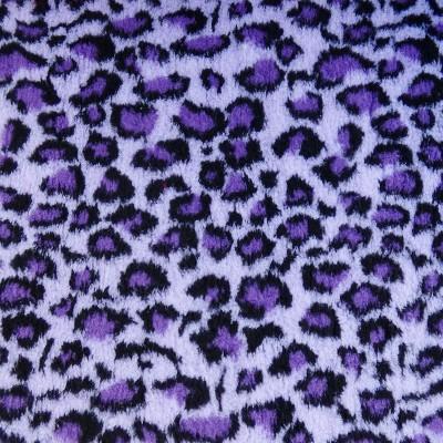 Vet Bed tappeto antiscivolo Leopardato Viola per cani