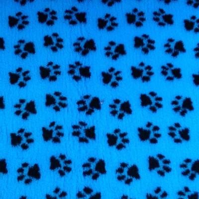 Vet Bed tappeto antiscivolo Verde con zampe Nere