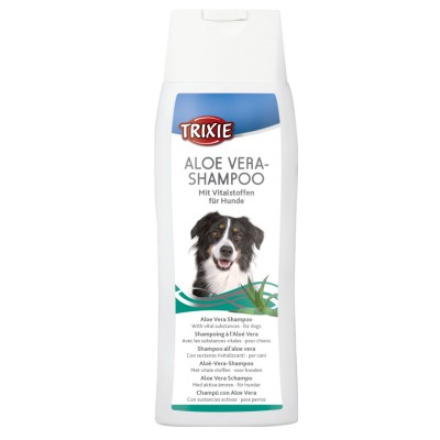 Shampoo all'aloe vera Trixie per cani