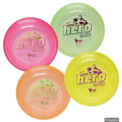Frisbee DISC DOG HERO SUPERHERO DISC per cani